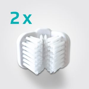 3-sided Brush Head for the Mira-Pet Dog Toothbrush